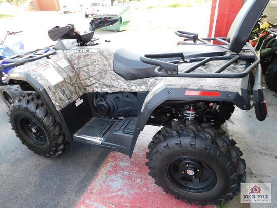 HiSun Tactic 750 4x4 (4 wheeler) VIN-LWGSDWZ08JA000018