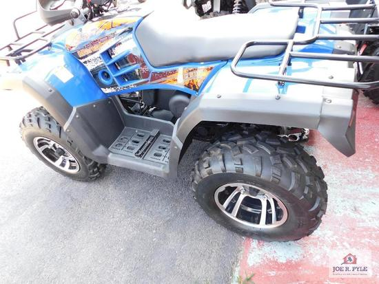 Big Boy 4x4 Monster (4 wheeler) VIN-