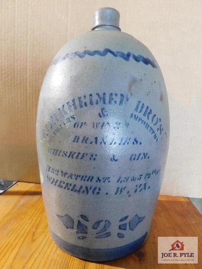 Horkheimer Bros. Distillers/Importers/ Wheeling ,WV