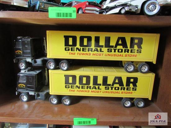 Dollar General Trucks Made By Ertl