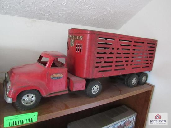 Tonka Cattle Truck And Trailer