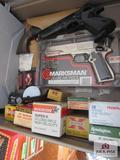 Misc. Ammo ( Not Full) And Bb Guns