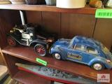 Jim Bean Decanter Car ( 2 Count)
