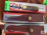 Lot Of 2 WV Black Walnut Festival Pocket Knives