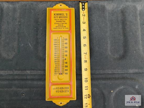 Kimmel's Auto Wrecker Thermometer