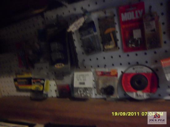 bottom shelf w contents