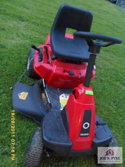 tb 30r troy built riding mower