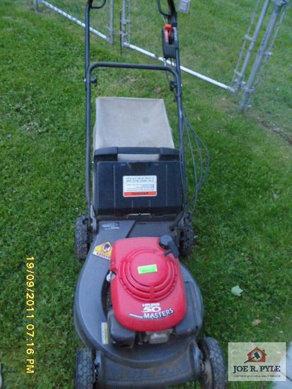 hr-215 Honda push mower
