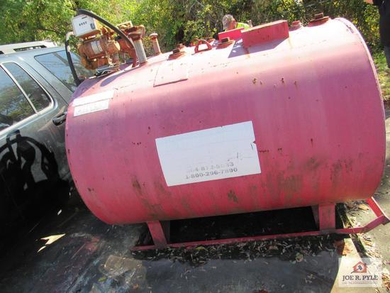 500 Gallon Diesel Tank W Pump