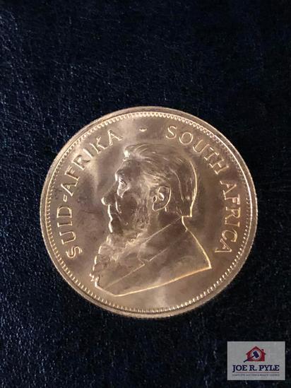 1978 1 OZ. Gold Krugerrand Coin
