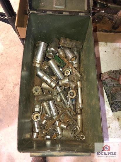 Ammo box full of sockets