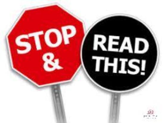 STOP! Must Read! ** REGISTRATION INFO **