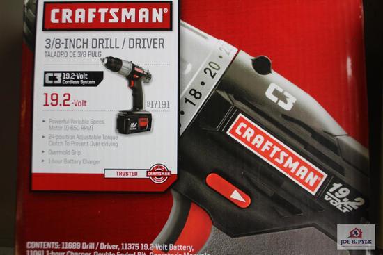 """Craftsman 3/8 """" drill driver (NIB)"""