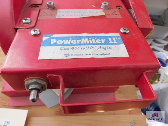 Power Miter II by Diamond Tech International cuts 45 -90 degree angles
