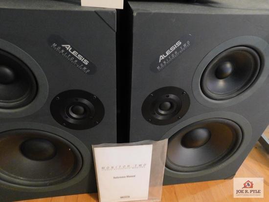 Alesis monitor II speakers