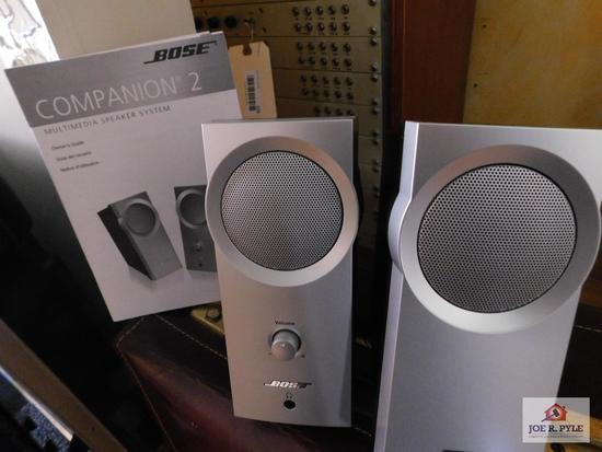Bose Companion II multimedia speakers