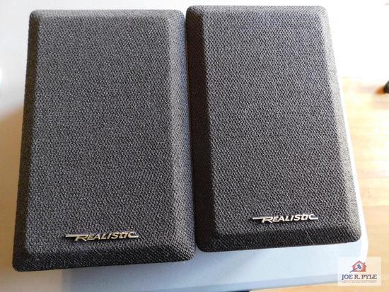 Realistic brand minimus -7W speakers