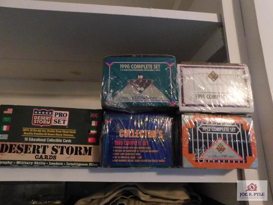 Collection baseball cards