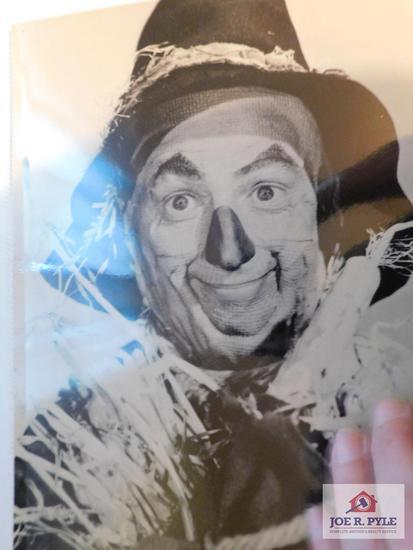 Collectible Wizard of Oz photos