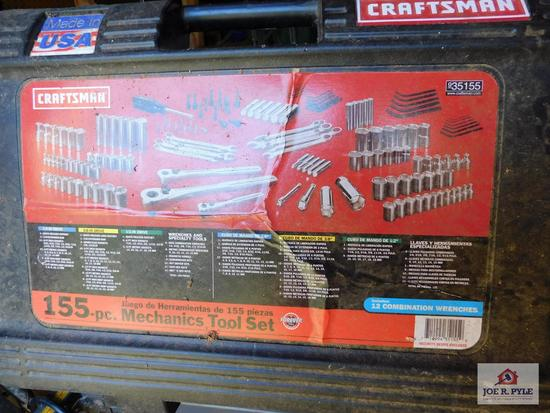 Craftsman tool set, 155 pieces