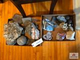 Collection of crystals, rocks & geodes