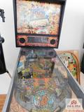 Flintstones pinball machine by Williams Electronics fully functional with key