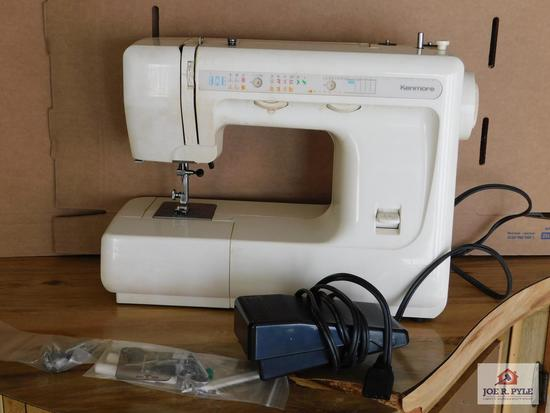 Kenmore sewing machine w/ foot pedal
