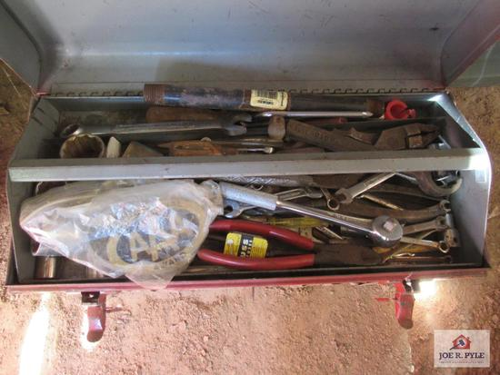 Red Tool Box W Contents