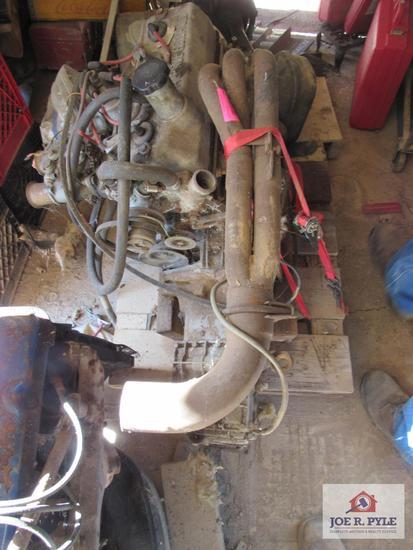 Renault Alpine Engine 4 Cylinder