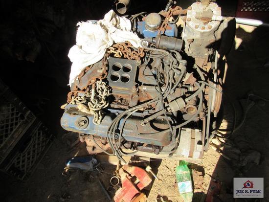 Gas Engine V8