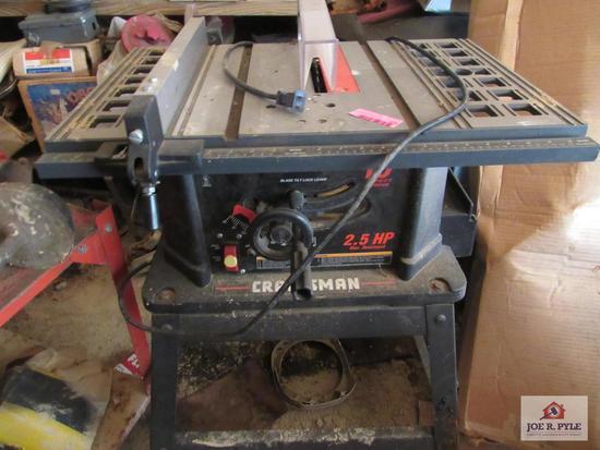 Craftsman Saw Table