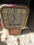 Vintage Dr Pepper Clock