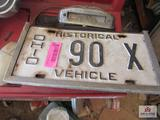 Historical Ohio Plate