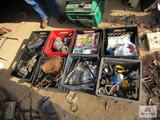 8 Milk Crates W Auto Parts