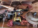 Approx. 8 Ft Section Car Parts and other Misc.