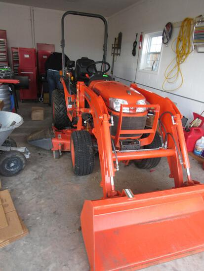 Kubota Tractor, Tools, Glassware & more