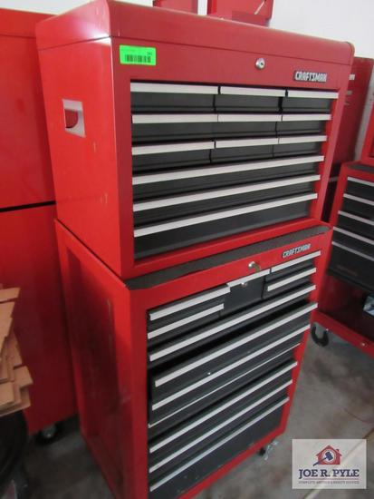 Craftsman Toolbox W Key 2 Tier