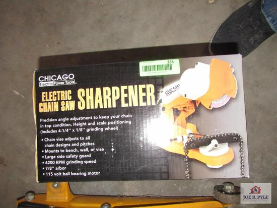 Wew Chainsaw Sharpener