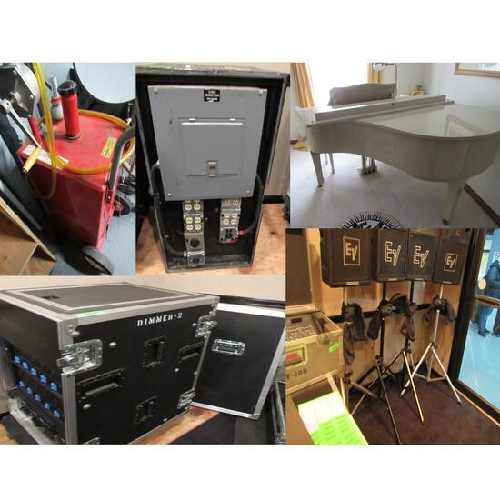 Audio, Lighting, Video Equipment Liquidation