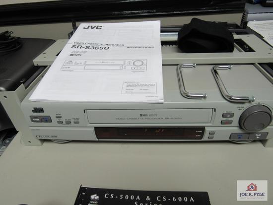 JVC SR-S365U VIDEO CASSETTE PLAYER
