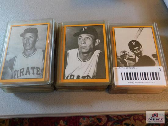 1977 TCMA 1960's Pittsburgh Pirates complete set