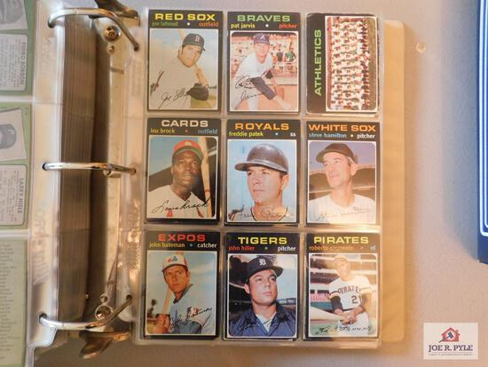 1971 Topps BB partial set (99%): Nice condition