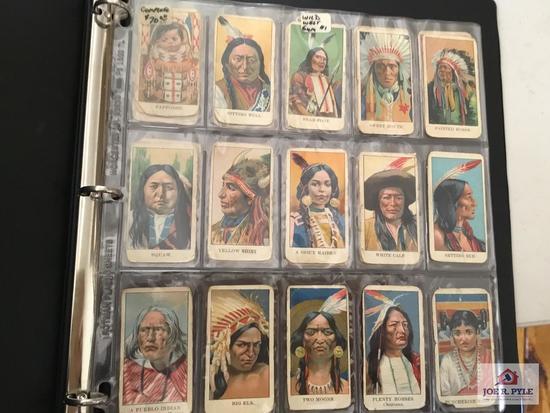 Antique Wild West Gum cards complete set John H. Dockman & Sons