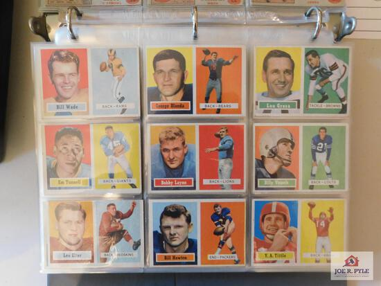 1957 Topps FB complete set
