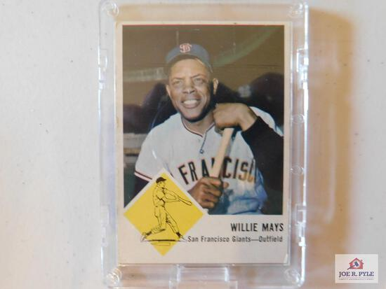1963 Fleer BB complete set: includes checklist and unmarked