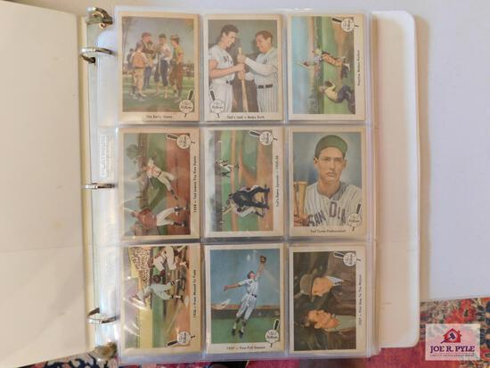1959 Fleer Ted Williams partial set: missing #68 but has 40 extra singles