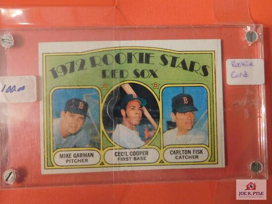 1972 Topps BB partial set 500+ cards: stars, highs, and rookies including Fisk