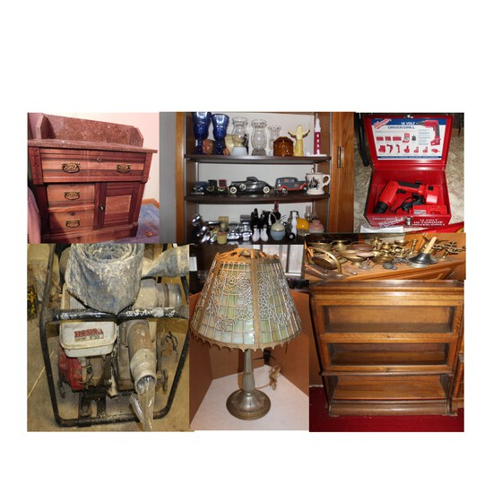 Antiques, Tools, Glassware, Collectibles & more