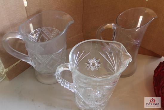 3 Vintage pitchers