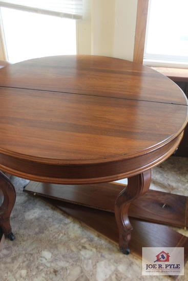 Antique Dining table and leaves